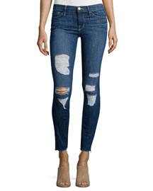 Le Skinny Distressed Jeans, Park Jefferson