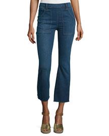 Le Cropped Flare De Francoise Jeans, Larra