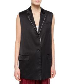 Donnie Long Button-Front Vest