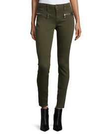 Jagger Skinny Ankle Jeans, Commando