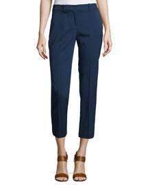 Samantha Skinny Cropped Pants, Blue