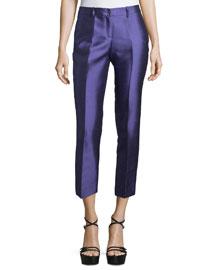 Samantha Cropped Skinny Pants, Hyacinth