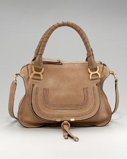 Chloe Marcie Calfskin Satchel, Medium