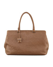 Bottega Veneta Brick Top-Handle Bag