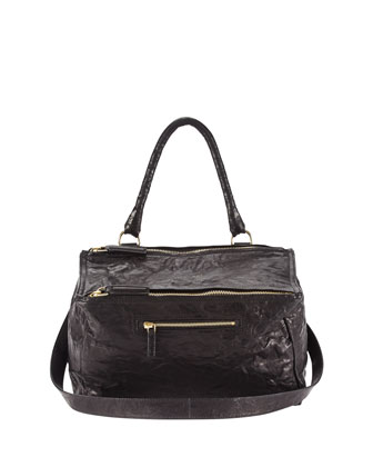 Pandora Medium Shoulder Bag, Black