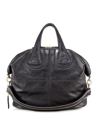 Nightingale Zanzi Leather Bag, Medium