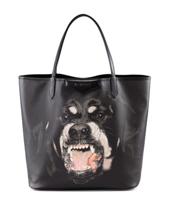 Antigona Rottweiler Tote Bag, Medium
