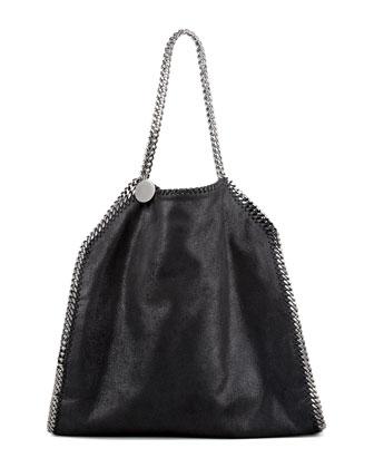 Classic Falabella Tote Bag, Black