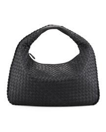 Veneta Hobo Bag, Black