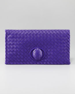 Bottega Veneta Veneta Fold-Over Clutch Bag
