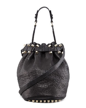 Diego Studded Drawstring Bag