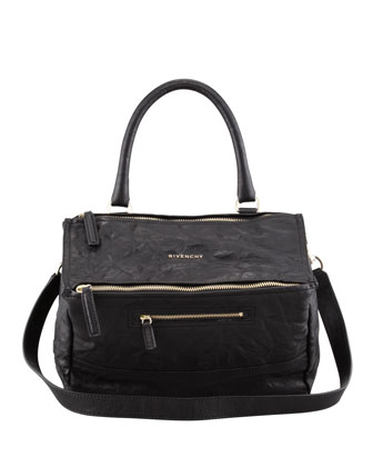 Pandora Pepe Medium Shoulder Bag, Black