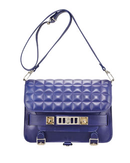 Proenza Schouler BG 111th Anniversary PS11 Classic Bag, Purple