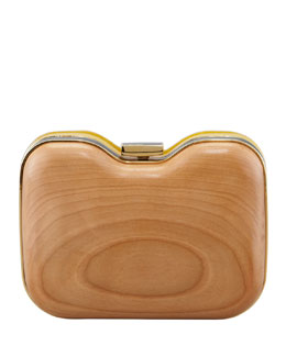 Fendi BG 111th Anniversary Giano Minaudiere, Yellow