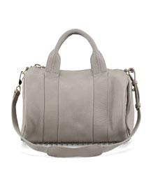 Rocco Stud-Bottom Duffel Bag, Oyster