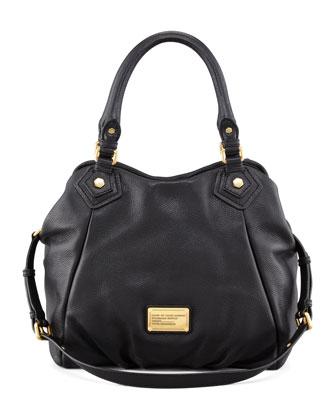 Classic Q Fran Hobo Bag, Black
