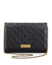 Marc Jacobs All-in-One Quilted Clutch Bag, Black