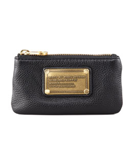 MARC by Marc Jacobs Classic Q Key Pouch Wallet, Black