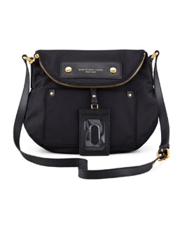 MARC by Marc Jacobs Preppy Nylon Natasha Bag, Black