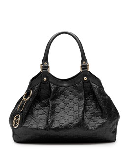 Gucci Sukey Medium Tote Bag, Black
