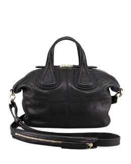 Givenchy Nightingale Micro Satchel Bag, Black