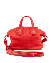 Givenchy Nightingale Micro Satchel Bag, Red
