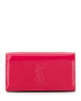 Saint Laurent Belle du Jour Clutch Bag, Fuchsia