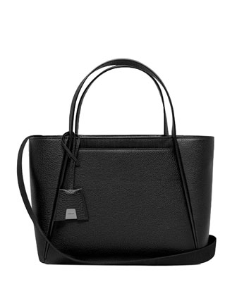 Alexa Medium Business Tote Bag, Black
