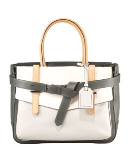 Reed Krakoff Boxer Tote Bag, Grey Multi