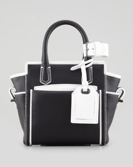 Reed Krakoff Atlantique Micro Bag, Black/White
