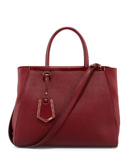 Fendi 2Jours Medium Tote Bag, Scarlet