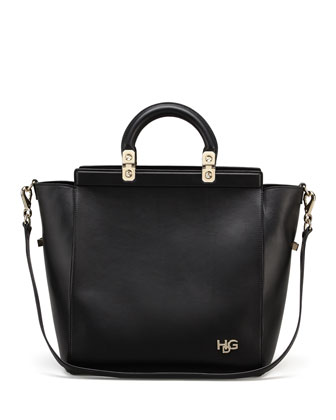 HDG Small Tote Bag, Black