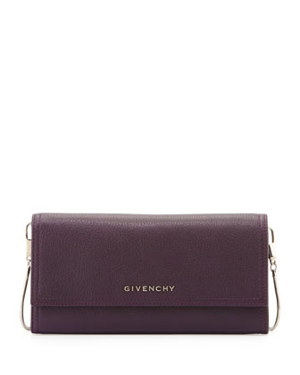 Pandora Sugar Chain-Strap Wallet, Purple