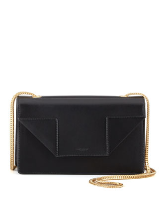 Betty Mini Chain Shoulder Bag, Black