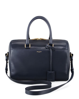 Small Duffel Saint Laurent Bag, Dark Blue