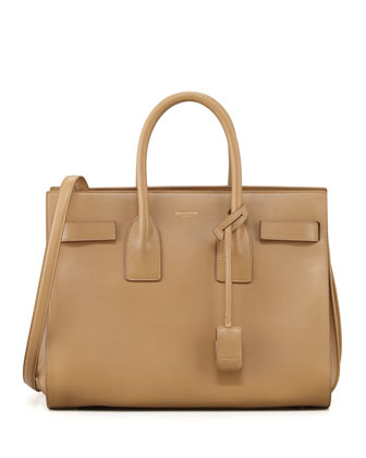 Sac De Jour Small Carryall Bag, Beige