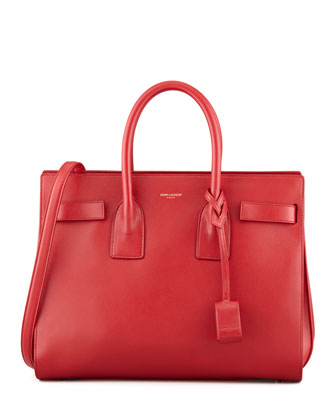 Sac De Jour Small Carryall Bag, Red
