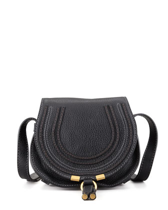 Marcie Small Satchel Bag, Black