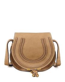Marcie Small Satchel Bag, Nut