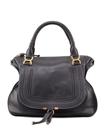 Marcie Large Shoulder Bag, Black
