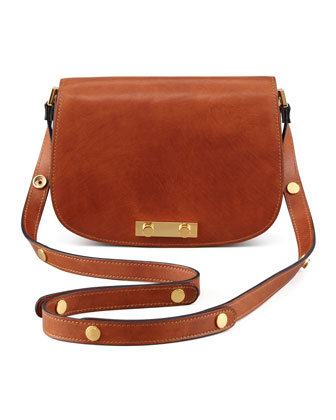 Adjustable-Strap Saddle Bag