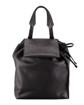 Faux-Pack Backpack, Black