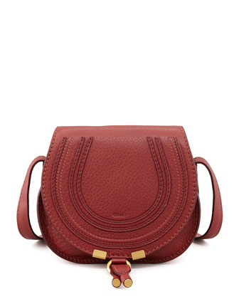 Marcie Small Satchel Bag, Red