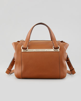 Bridget Mini Shoulder Bag, Brown