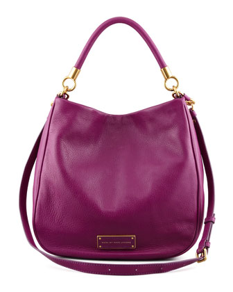Too Hot To Handle Hobo Bag, Magenta
