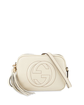Soho Small Shoulder Bag, Mystic White