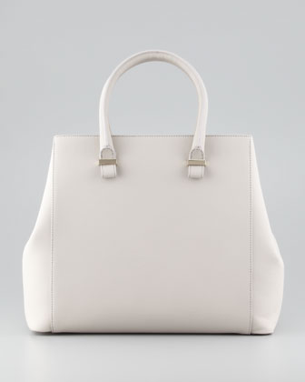 Liberty Structured Tote Bag, Light Gray