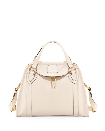 Wellington Classic Satchel, Milk