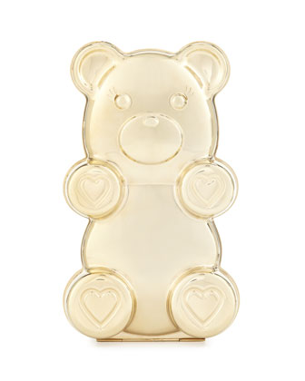 Gummy Bear Clutch Bag, Gold