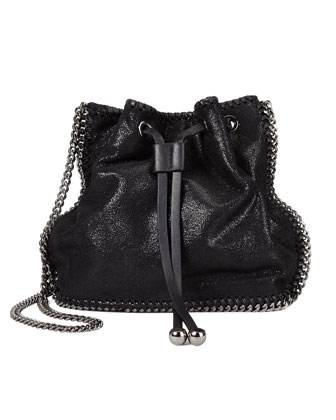 Falabella Pouch Crossbody Bag, Black